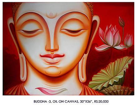Buddha 3 by Pk Sahoo
