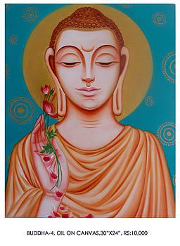 Buddha 4 by Pk Sahoo