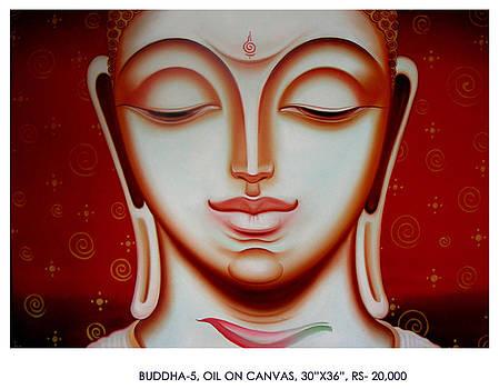 Buddha 5 by Pk Sahoo