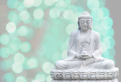 Hannes Cmarits - buddha  enlightment  green