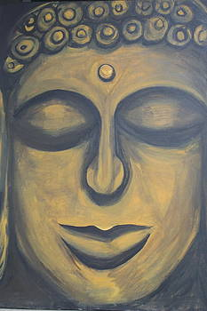 Buddha for Kabika by Courtney Hancock