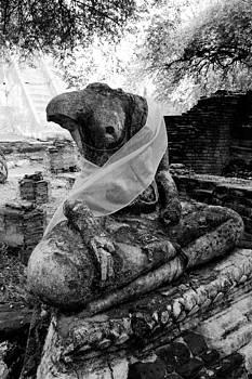 Buddha is broken. by Pitakpong Chansri