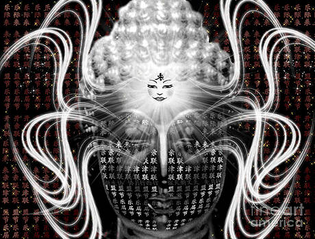 Buddha Psychedelic by Gia Simone