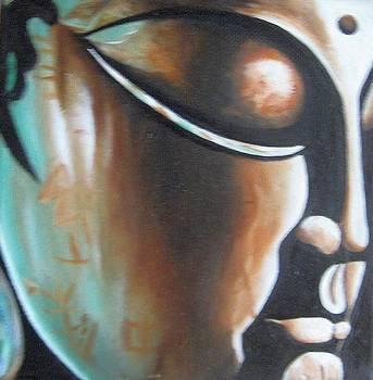 Buddha by Usha Rai