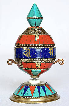 Kantilal Patel - Buddhist Prayer Wheel