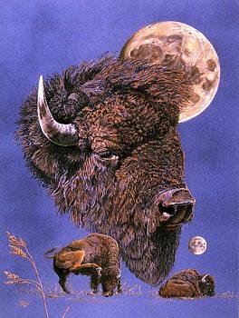 Buffalo-Moon series by Turea Grice