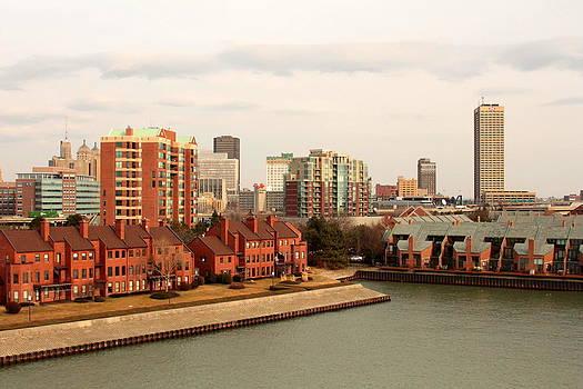 Buffalo Waterfront by Beverly Kobee