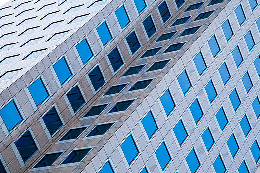 Adam Pender - Building Abstract in Long Beach