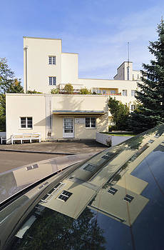 Building in Weissenhof settlement Stuttgart Germany by Matthias Hauser