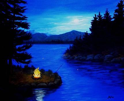 Peggy Miller - Bullhead Fishing
