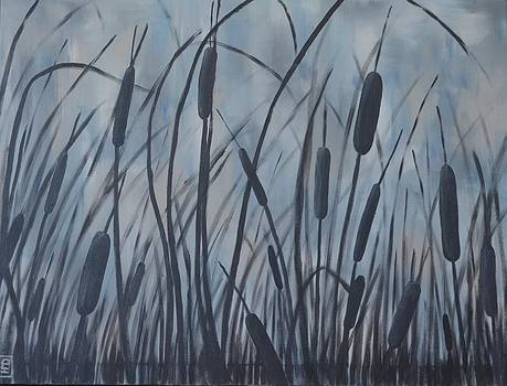Bullrush Blues by Holly Donohoe