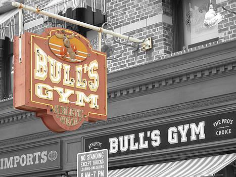 Bulls Gym by Audrey Venute