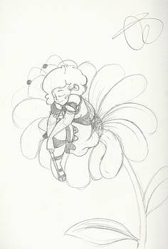 Michelle Cruz - Bumblebee Girl Sketch