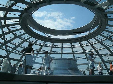 Bundestag Roof by Chris Wolf