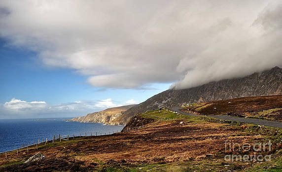 Bunglas Cliffs Slieve Leigue  Donegal Ireland by Slavi Begov