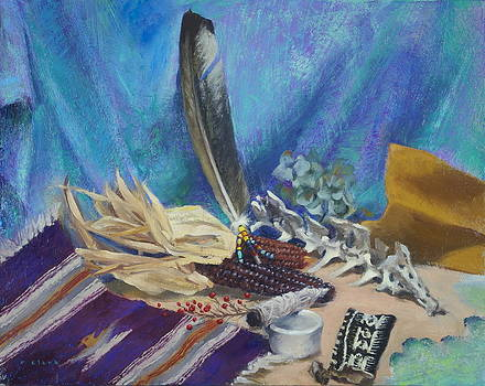 Bunny's Eagle Feather by Roger Clark