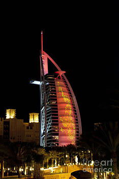 Burj Al Arab at Chinese New Year by Karen Kean
