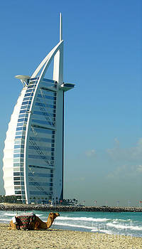 Burj Al Arab Dubai by Karen Kean