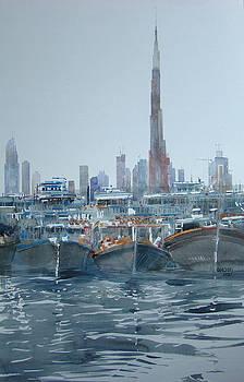 Burj Khalifa Dubai by Martin Giesen