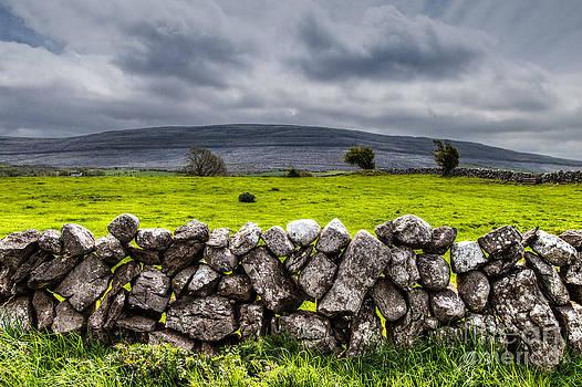Burren Stones by Juergen Klust