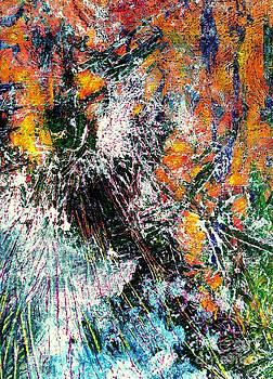 Burst in Orange by Leela Arnet
