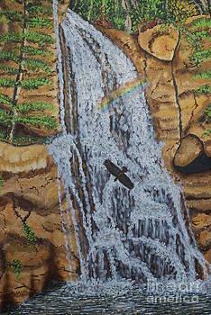 Bushkill Falls by William Ohanlan