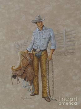 Phyllis Howard - Busted Bronc Rider
