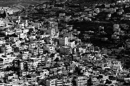 busy population of Jerusalem by Victor Bezrukov