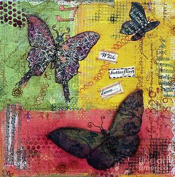 Diana Cox - Butterflies Dancing