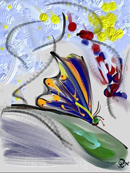 Butterflies Groovin' by Steven Levin