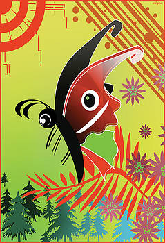 Butterfly 125 by Uriel Gomez