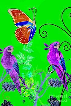 JISS JOSEPH - butterfly and birds