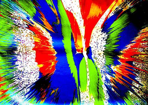 Butterfly by Artist Singh