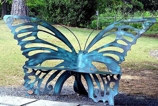 Maria Urso  - Butterfly Bench