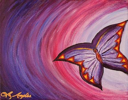 Butterfly Lost by Liz Angeles