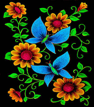 Butterfly Pastel by Karen R Scoville
