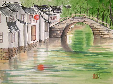 By The Bridge by Lian Zhen