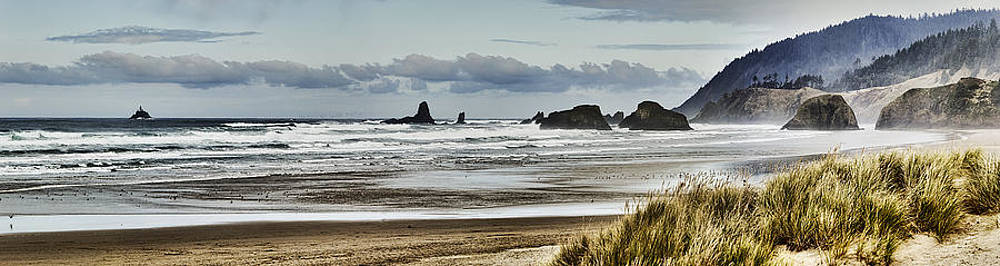 By the Sea - Seaside Oregon State  by James Heckt