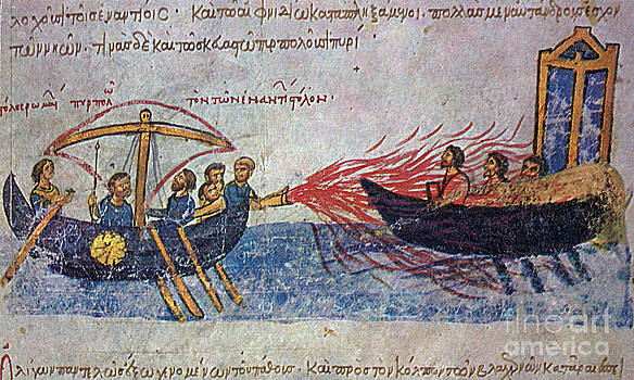 Photo Researchers - Byzantine Sailors