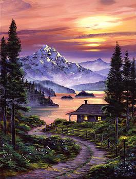 David Lloyd Glover - Cabin On The Lake