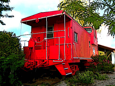 Caboose by Patricia Erwin