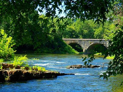 Cacapon River at Great Cacapon by Joyce Kimble Smith