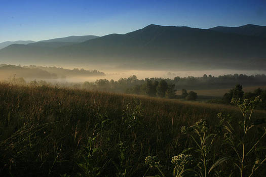 Cades Cove Morning by Karen Lawson