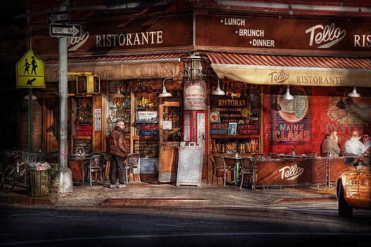 Mike Savad - Cafe - NY - Chelsea - Tello Ristorante