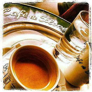 Cafe De Flore by Susan Smela