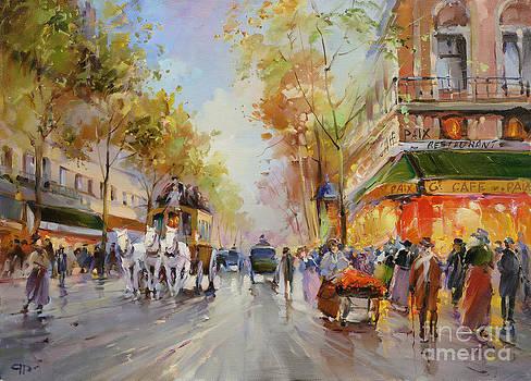 Cafe Paix by Roman Romanov