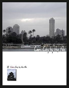 Cairo City by the Nile tree   by Mohamed EzzEldeen