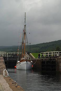 Caledonian Canal by Steve Watson