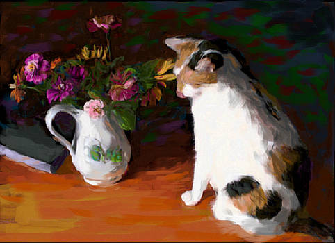 Calico flowers by Victor Martinez