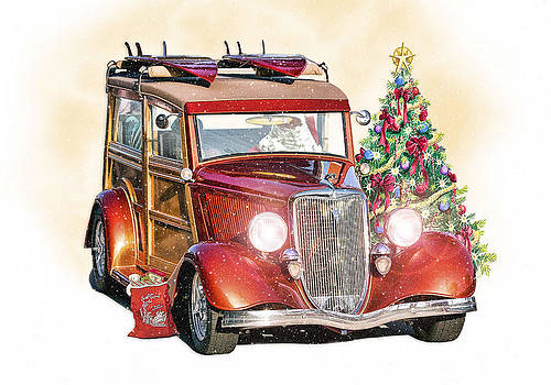 California Christmas  by Rat Rod Studios